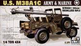 Бронеавтомобиль M38AIC  1/4T 106mm Rec Rifle от Afv-Club