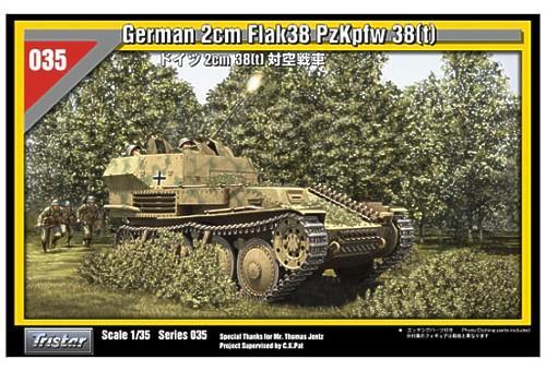 Flakpanzer 38(t) , Sd.Kfz.140 Tristar 35035