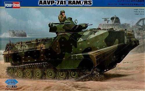 Десантно-гусеничная машина-амфибия морской пехоты США AAVP-7A1 RAM/RS Hobby Boss 82415