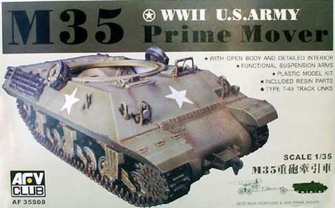 Тягач M35 PRIME MOVER (LIMITED) Afv-Club 3508