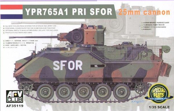 Боевая машина пехоты YPR765A1 PRI Afv-Club 35119