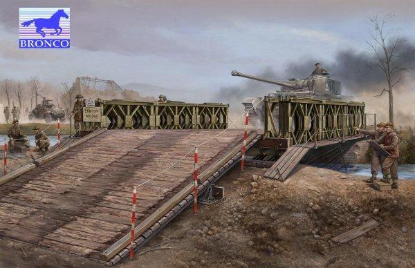 Механизированный мост тип М2 Bronco Models 35012