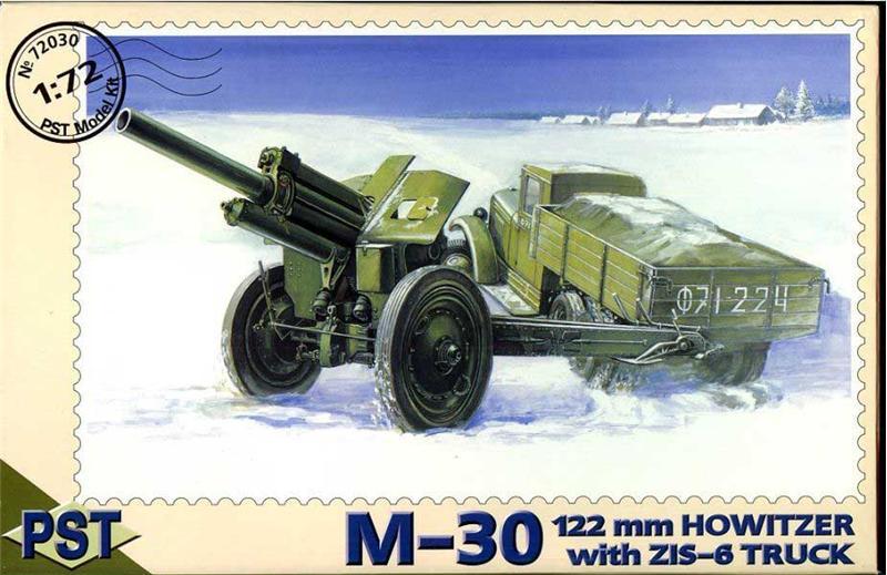 Автомобиль ЗиС-6 с 122мм пушкой М-30 PST 72030