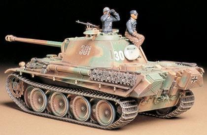 Немецкий танк Panther Type G поздняя версия Tamiya 35176