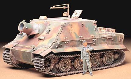 Модель немецкой САУ 38cm 'Sturmtiger' Tamiya 35177