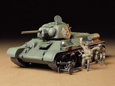 Советский танк Т34/76 ЧТЗ Tamiya 35149