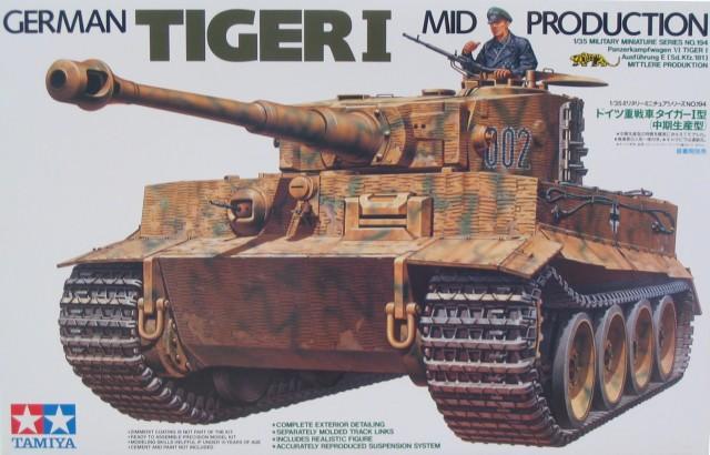 Немецкий танк Tiger I (середина производства) Tamiya 35194