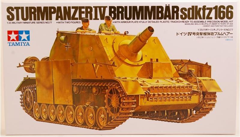 Sturmpanzer IV Brummbar Tamiya 35077