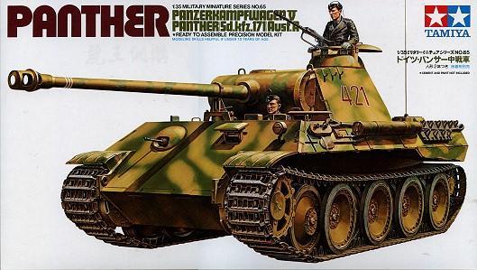 Немецкий средний танк Panther Tamiya 35065