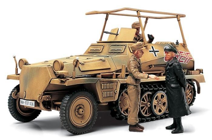 Немецкий БТР Sd.Kfz.250/3 Greif Tamiya 32550