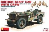 Британский командирский автомобиль с экипажем