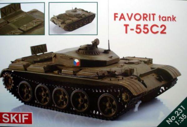 Советский танк T-55C-2