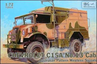 Chevrolet C15A No.13 Cab Australian Pattern Wireless / IBG Models 72015