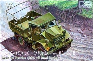 Chevrolet C15A No.11 Cab General Service IBG Models 72018