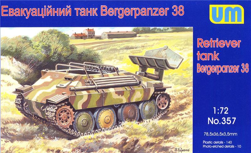 Эвакуационный танк Bergerpanzer 38 Unimodels 357