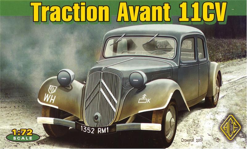 Французский легковой автомобильTraction Avant 11CV Ace 72273