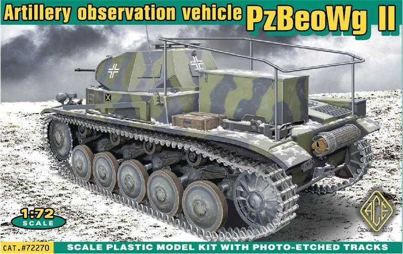 Германский командирский танк PzBeoWg II Ace 72270