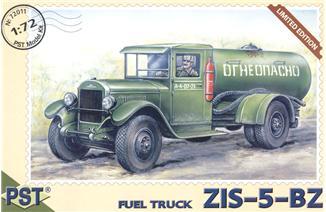Пластиковая модель грузовика ЗиС-5-БЗ PST 72011