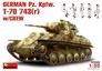 Немецкий танк Pz. Kpfw.743(r) с экипажем MiniArt 35026 основная фотография
