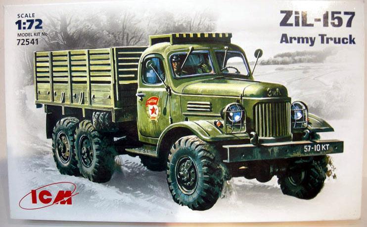 Советский грузовик ЗиЛ-157 ICM 72541