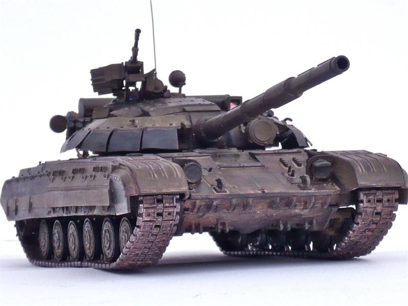 Украинский боевой танк T-64БM2 Skif 228