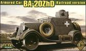 Бронеавтомобиль БА-20ЖД