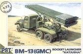 BM-13(GMC) 'Katjusha' Soviet rocket launcher