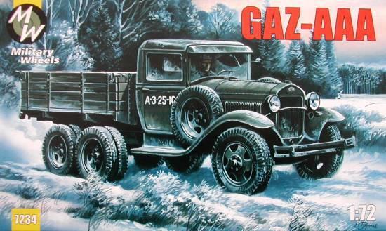 Советский автомобиль ГАЗ-ААА Military Wheels 7234