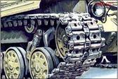 Траки для сборки гусениц танков Т-64А, Т-64Б, Т-64БВ