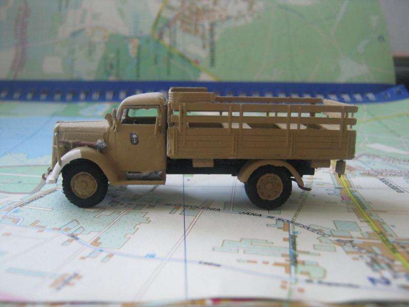 Германский армейский грузовик Opel Blitz (Kfz.305) Roden 710