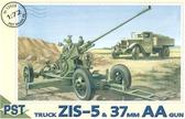 ZiS-5 truck with 37mm AA gun