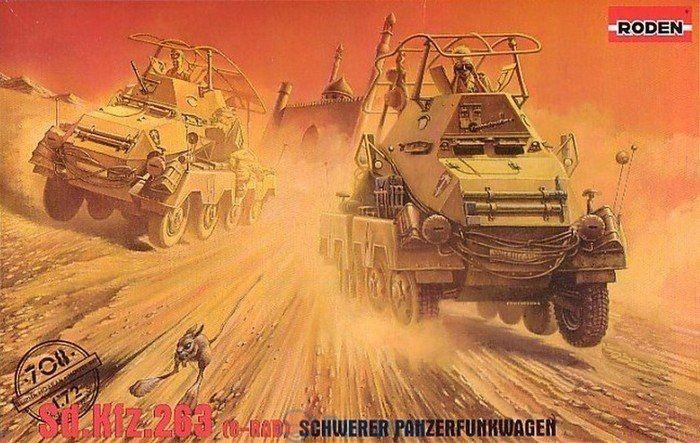 Бронеавтомобиль Sd.Kfz.263 Roden 708