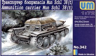 Транспортер боеприпасов Mun Schl 38 (t) Unimodels 342