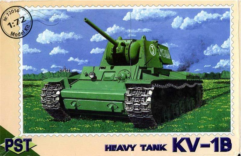 Масштабная модель советского танка КВ-1В PST 72014