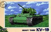 Масштабная модель советского танка КВ-1В