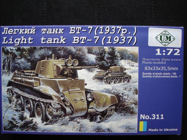 Советский легкий танк БТ-7 (1937) UMT 311