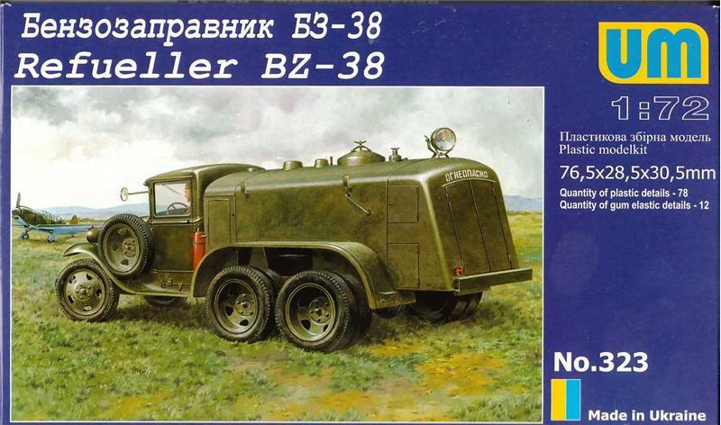 Бензозаправщик БЗ-38 Unimodels 323