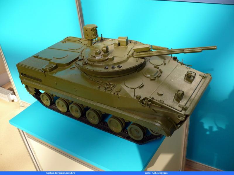 Современная боевая машина пехоты БМП-3 Skif 204