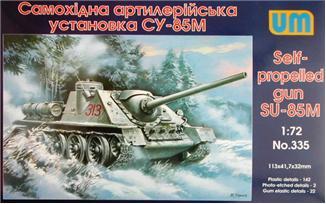 Самоходная артиллерийская установка СУ-85М Unimodels 335