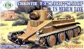 Танк Кристи Т-3 М.1931 /М.1940