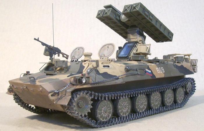 Легкий ракетный комплекс 9К35 «Стрела-10СВ» Skif 216