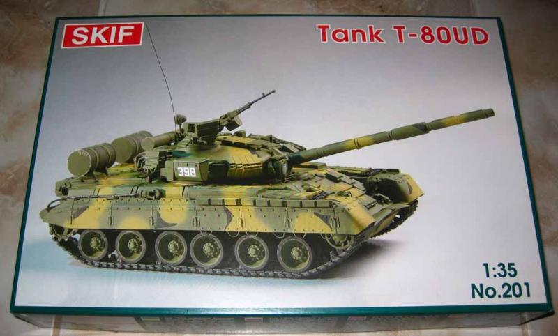Cоветский боевой танк T-80-УД «Береза» Skif 201