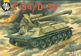 Самоходное орудие на базе танка T-34