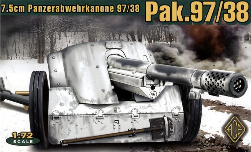 Германская 75мм противотанковая пушка Pak.97/38 Ace 72223