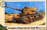 Pz.Kpfw.753 (r) mit 7,5 kwK 40 German heavy tank