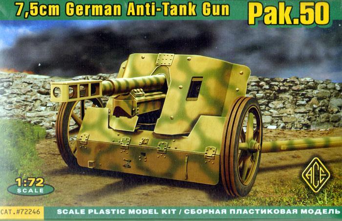 Германская 7.5cm противотанковая пушка Pak.50 Ace 72246
