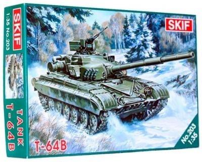 Cоветский Боевой Танк Т-64 Б Skif 203