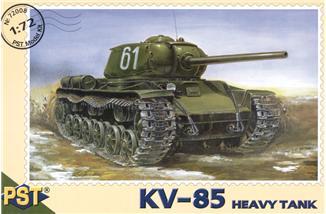 Пластиковая модель танка КВ-85 PST 72008