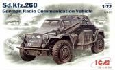 Немецкий бронеавтомобиль радиосвязи Sd.Kfz.260