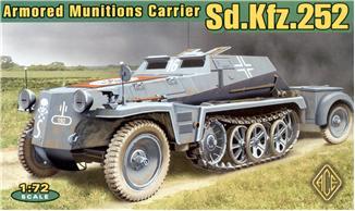 Германский фронтовой транспортер боеприпасов Sd.Kfz.252 Ace 72238